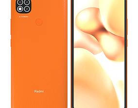 Xiaomi Redmi 9C Sunrise Orange 3D