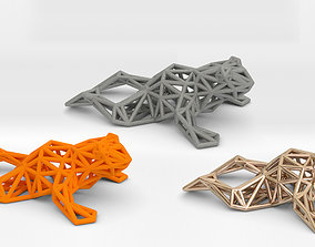 3D print model North American Bullfrog