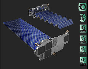3D SpaceX Starlink Satellite