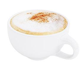 3D Cappuccino cup 3