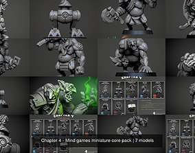 3D model Chapter 4 - Mind games miniature core pack