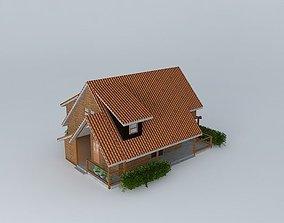 Lovely resort 3D model