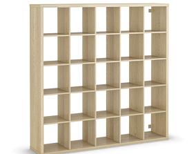 3D model KALLAX procedural shelf