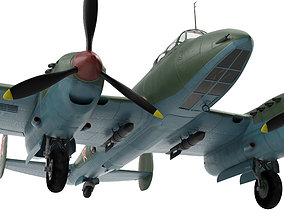 3D model Petlyakov Pe-2