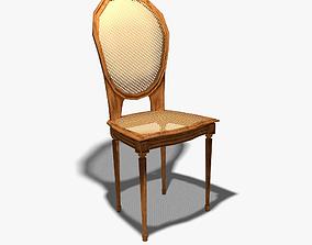 Detailed Chair 3D model VR / AR ready