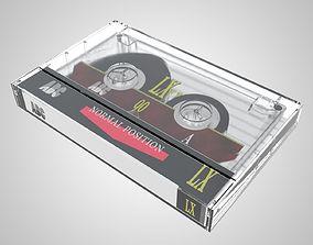 3D Compact Cassette Tape