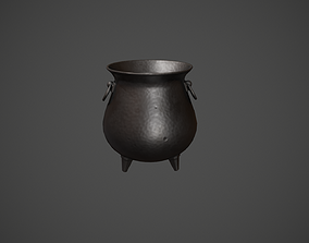 Cauldron - Witches Cauldron 3D model