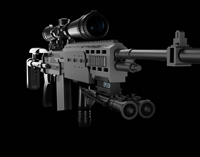 3D model M 14 ebr