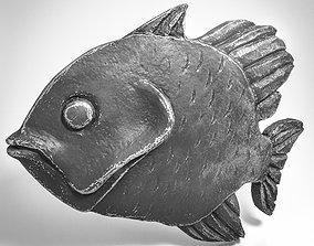 Metal Fish Pendant 3D printable model