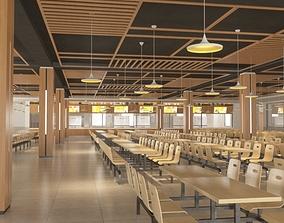 Staff Canteen 3D