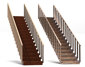 cheap 3D model realtime Stairs