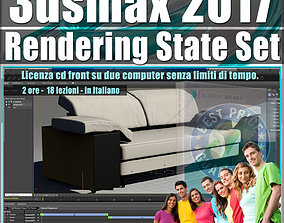 003 3ds max 2017 Rendering State Set vol 3 CD