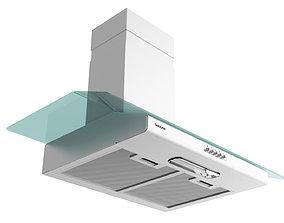 Suggar Vidrio 90cm White 3D model