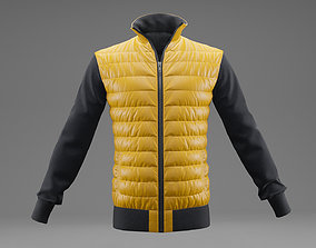 Winter jacket 3D model VR / AR ready