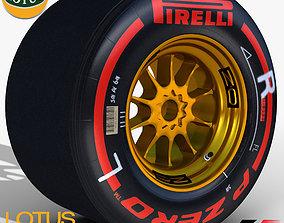 E23 Supersoft Rear tyre 3D model