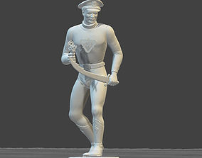 Captain Action 1966 doll TOY SOLDIER 3D printable model