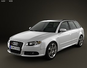 3D Audi S4 Avant 2005