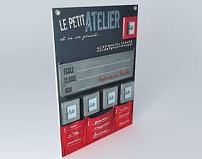 Memo Petit Atelier Maisons du monde 3D model