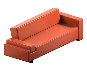 3D model sofa 41 photorealistic
