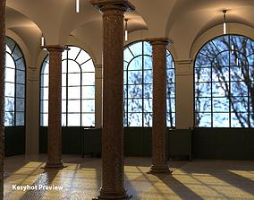3D model Column Hall rhino5