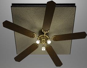3D model Worlds Greatest Ceiling Fan
