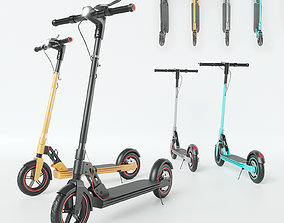 3D model electric scooter Unicool Foldable
