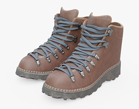 Hiking Boots 3D model VR / AR ready