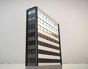 3D model City Building Design I-1