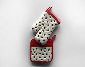 Oven Glove 3D model