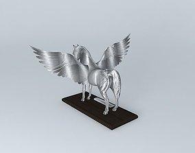Horse statue sculpture 3D