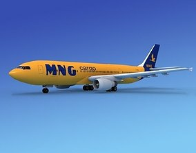Airbus A300 MNG Cargo 2 3D model