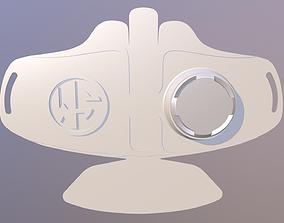 N95 mask 3D printable model