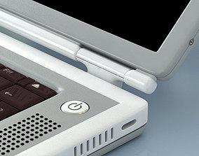 3D model Macbook Titanium