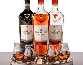 Macallan rare cask 3D