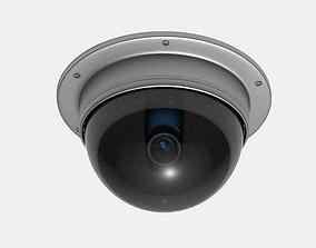 3D model VR / AR ready CCTV camera