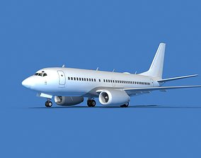 Boeing 737 MAX 7 Unmarked 3 3D