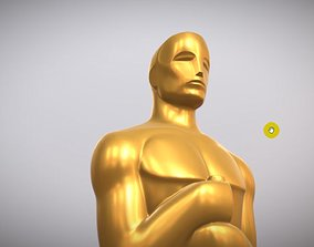 oscar 3d model Oscar statuette