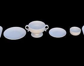 Plates - 6 Piece 3D model