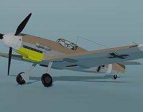 3D model realtime Messerschmitt Bf 109 F4 Trop