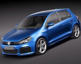 Volkswagen Golf R 3D model
