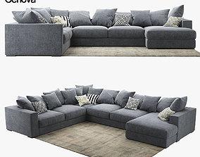 sofa BoConcept Cenova IN52 3D model