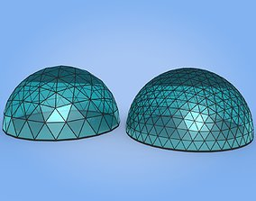 Geodesic Dome 3D asset