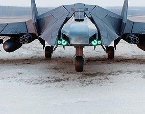 Jet Fighter Concept 3D