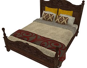 3D model Bedcloth 04