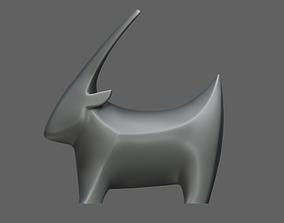 3D print model Goat figurine