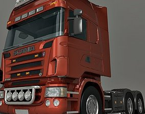 3D Qualitative model of the Scania truck tractor