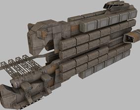 3D asset Cargo Freighter