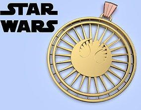 Star Wars New Jedi Order Medallion cosplay 3d model for