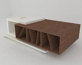 3D asset Modern coffee table ZIG