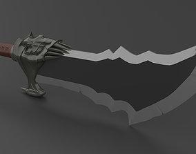 Blades of Chaos - God of War 2018 3D Print